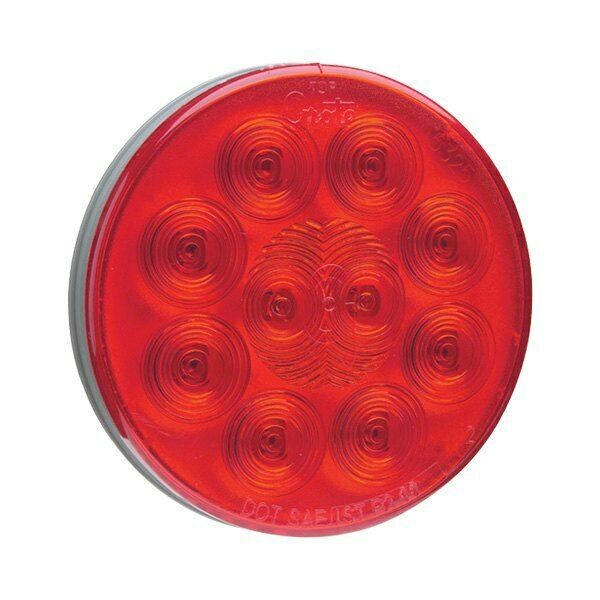 Grote 53552 Supernova 4 U0026quot  Round Led Tail Light