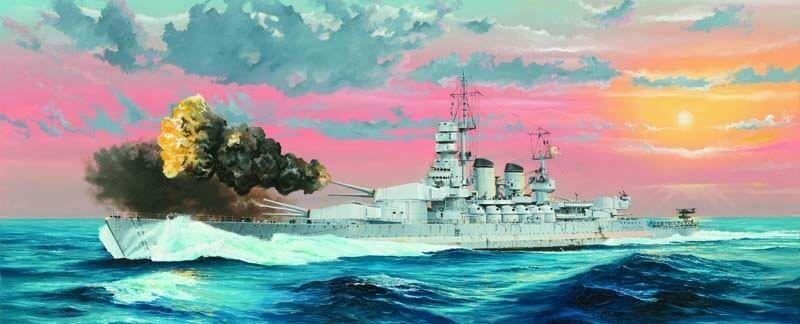 Corazzata Italiana RN Littorio 1941 Nave combattenteship 1 350 modellololo Plastico Kit