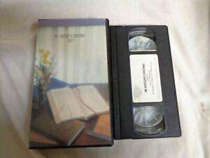 USED-VHS-Mr-Krueger-039-s-Christmas-53017-SS