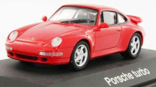 marcas de diseñadores baratos Raro Schuco Porsche Porsche Porsche 911 993 Turbo guardias Rojo 1 43 Nuevo en Caja 1 de 500  precios bajos
