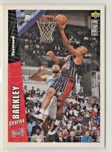 nba UPPER DECK 1996  # 248 CHARLES BARKLEY ROCKETS  BASKETBALL CARD MINT