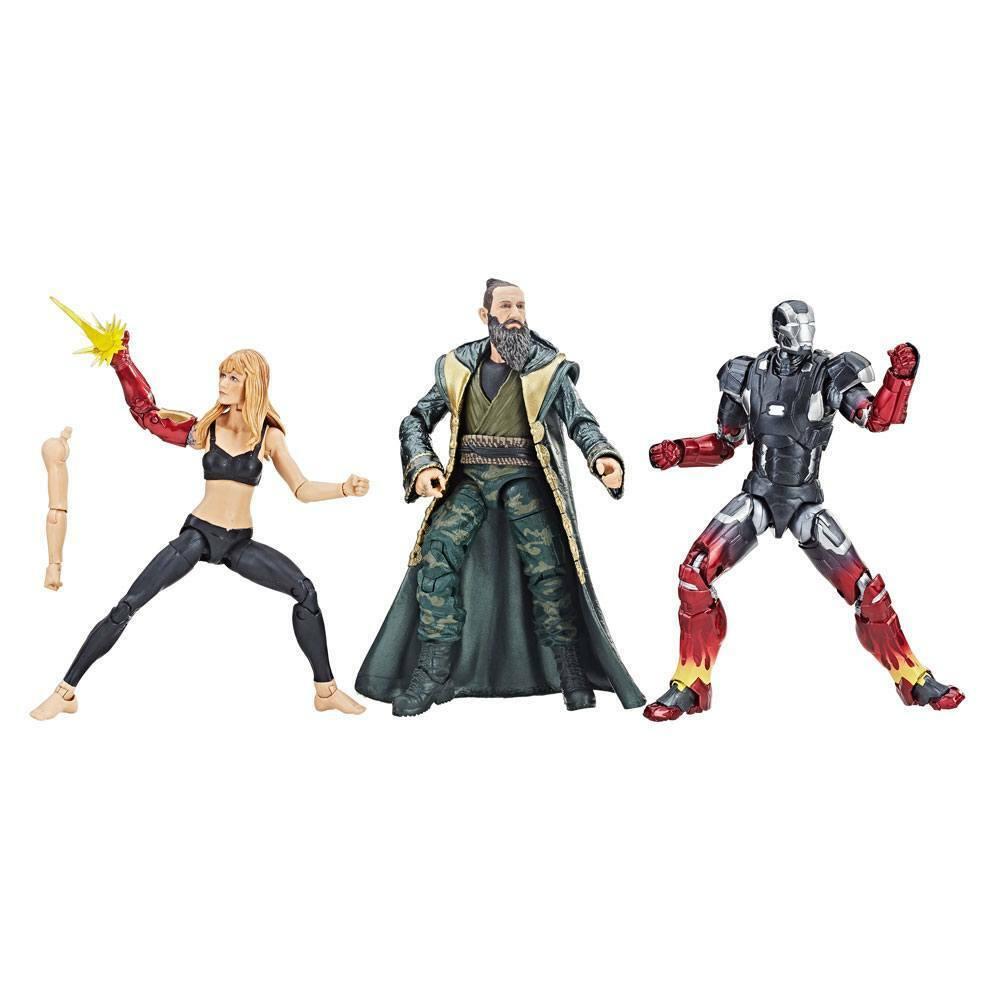 Marvel leggende Iron uomo  3 Pepper Potts MARK XXII & il uomodarino Confezione da 3  a prezzi accessibili