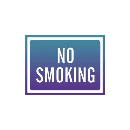 ebn4009 Decal Sticker No Smoking Business Sign Multiple Patterns /& Sizes