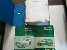 1993 MITSUBISHI Precis Service Repair Workshop Shop Manual Set OEM Factory
