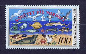 ALEMANIA-RFA-WEST-GERMANY-1990-MNH-SC-1598-Environment-protection