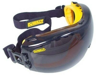DEWALT DPG82-21D Concealer Smoke Anti-Fog Safety Goggles Dual Mold NEW MODEL