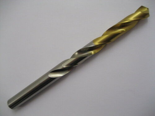 2 x 9.5mm HSS TiN COATED GOLDEX JOBBER DRILL EUROPA TOOL OSBORN 8105040950  50