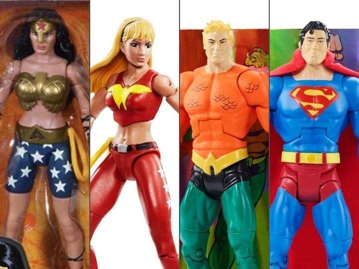 Dc Comics Multiverse Mattel Action Figure Wave 7 Superheroes