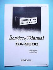 Service Manual-Anleitung für Pioneer SA-9800