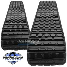 Two Rubber Tracks Fit Cat 287 287b 2208161 Caterpillar 220 8161 Asv Rc100 Rc85