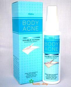 Mistine BODY ACNE SPRAY Treatment Smooth spots Back,Chest