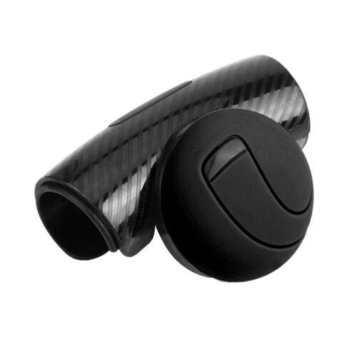 Car Steering Wheel Knob Spinner Power Handle Ball Wheel Booster Black