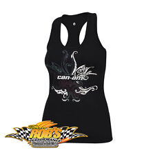 NEW CAN-AM SPYDER LADIES COMFORT TANK TOP BLACK  MEDIUM  4536860690 *CLEARANCE*