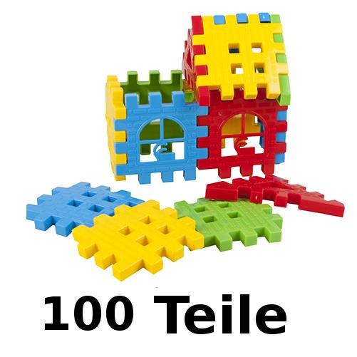 Bausteine Bauklötze Spielzeug Steckbausteine Baby Spielbausteine Feuerwehr 120