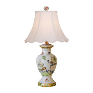 Beautiful-Chinese-Floral-Bird-Motif-Porcelain-Vase-Table-Lamp-16-034