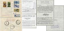 CYPRUS to AUSTRALIA REGISTERED 1964 UN OPT FDC + STAMP DEALER LETTER