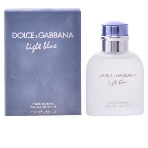 Parfuem-Dolce-amp-Gabbana-men-LIGHT-BLUE-POUR-HOMME-edt-zerstaeuber-75-ml