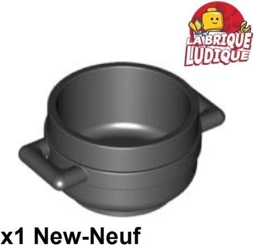 Lego 1x Minifig utensil Pot Cauldron chaudron marmite food noir//black 4341 NEUF