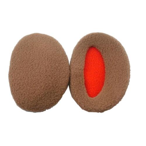 1 paar Mehrfarbig Polyester Ohrenschützer Damen Herren Winter Ohrwärmer Zubehör