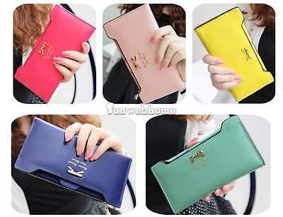 HOT Fashion Women Ladies Clutch Wallet Long Card Holder Envelope Purse Handbag