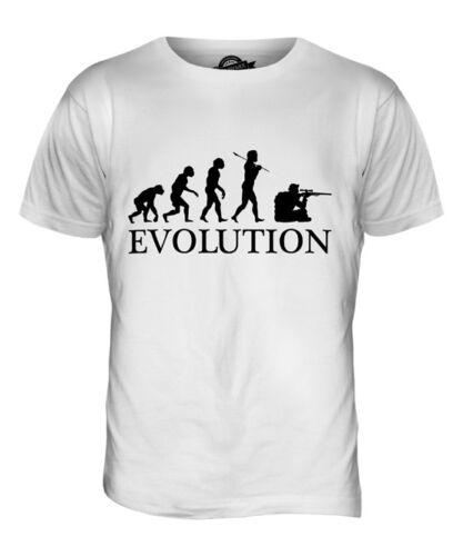 Sniper EVOLUTION T-Shirt Homme Tee Top giftelite fusil