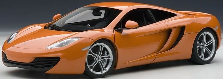 Autoart 76006 McLaren mp4-12c 2011 in arancione metallizzato 1 18 NUOVO OVP
