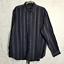 Britches-Dark-Blue-Striped-Long-Sleeve-Dress-Shirts-Men-039-s-XL-LOT-OF-2 thumbnail 2
