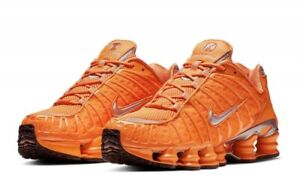 Details about Nike Shox TL Total Orange Running Shoes Clay BV1127-800 Mens  Sizes