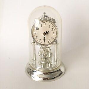 Vintage Quartz Anniversary Dome Brass Clock (No Longer Works)