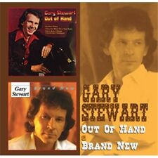 Gary Stewart Out Of Hand/Brand New 2-CD NEW SEALED 2013 Country
