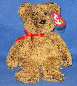 TY LEX the BEAR BEANIE BABY - LEARNING EXPRESS EXCLUSIVE - MINT with MINT TAGS