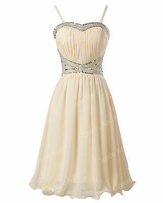 NEW A Line Short Prom Dresses Graduation Ball Gown Party Formal Evening Dresses