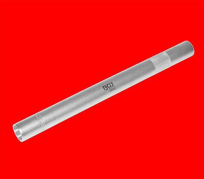 16mm Zündkerzen Schlüssel Steckschlüssel mit Kronenfeder Halter 250mm Lang B2405