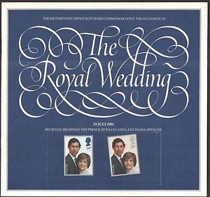 THE-ROYAL-WEDDING-1981-STAMP-SOUVENIR-BOOK-CHARLES-amp-DIANA