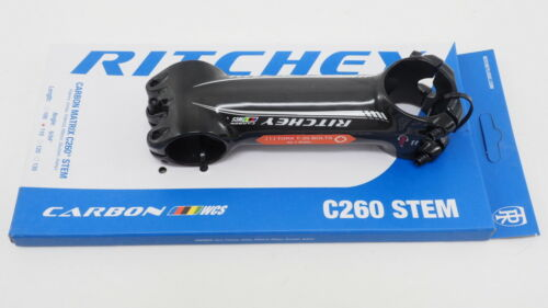 Black New Ritchey Carbon Matrix C260 Road Cycling Bike Stem 110mm Length