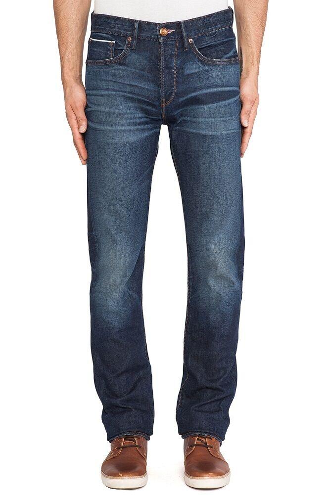 Lee 101b Mager Gerade Herren Kanten Jeans Vintage Hergestellt in USA Neu 34