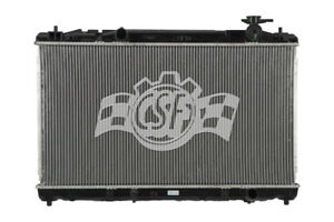 Radiator-1 Row Plastic Tank Aluminum Core CSF 3406