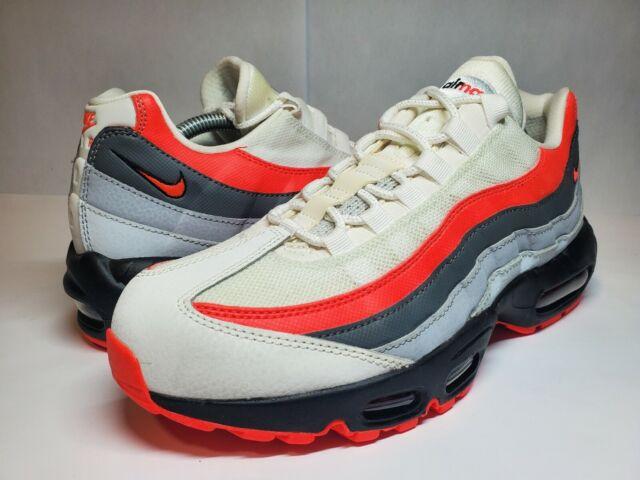 Nike Air Max 95 Essential Sz 11 Mens 749766 112 White Crimson