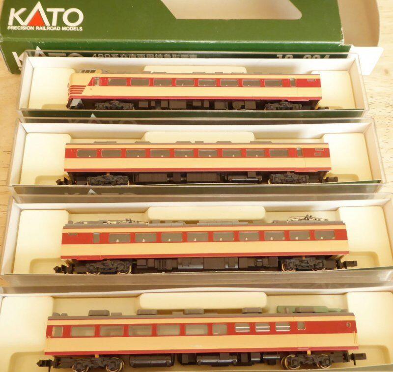 Kato 10-034 Spur N JNR JNR JNR LTD. Limited Express Series 489 JR Elektro-Triebwagen e24d11