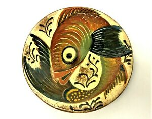 Puigdemont-Wall-Charger-Flying-Fish-Glazed-Decorative-Plate-Stoneware-Dish