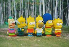 Simpsons Family Bart Lisa Marge Homer Tortenfiguren Kuchendekoration Figur Set6