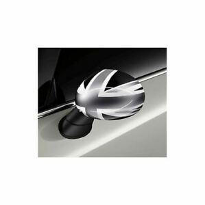 Originale MINI F56 F55 Aussenspiegelkappen Black Jack Cappelli Set