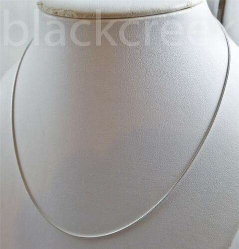 925 Sterling Silver ~ 18 Inch Italian Snake Chain Necklace ~ 1.0mm Wide ~ 4g