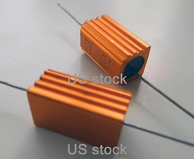 2PCS 100W Watt Power Metal Shell Wirewound Resistor 7.5 Ω ~ 100Ω ohm Class J ±5/%