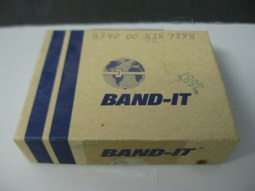 """3//4/"""" inch 25 pcs w// Hex Key NOS BAND-IT C72699 Stainless Steel Scru-Lokt Buckle"""