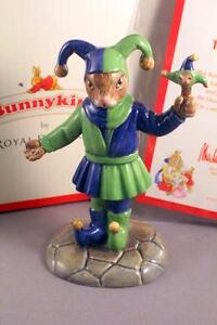 ROYAL-DOULTON-BUNNYKINS-DB517-THE-FAIR-JESTER-VERY-RARE-LIMITED-EDITION