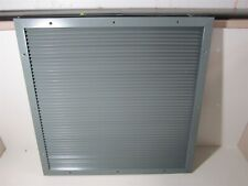 26 18 H X 26 14 W Steel Intakeexhaust Gray Door Louver Air Vent With Fasteners