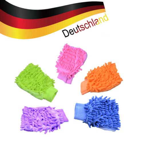 Mikrofaser Waschhandschuh Handschuh Autowaschhandschuh Autoschwamm 21x15cm