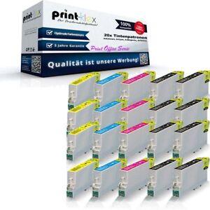20-x-Cartuchos-de-Tinta-reciclados-para-Epson-stylus-d-92-Cartuchos-de-Tinta-Set