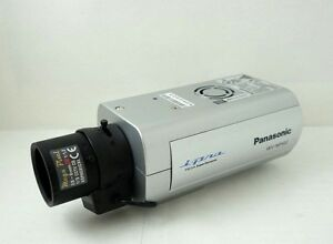 Panasonic WV-NW502S Network Camera Descargar Controlador